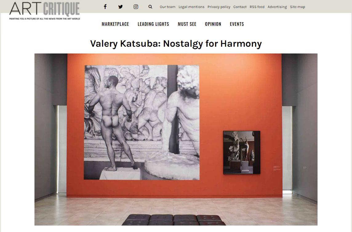 ART Critique: Valery Katsuba: Nostalgy for Harmony